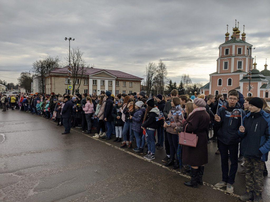 памятник Гагарину, возложение венков, Гагаринские чтения_2