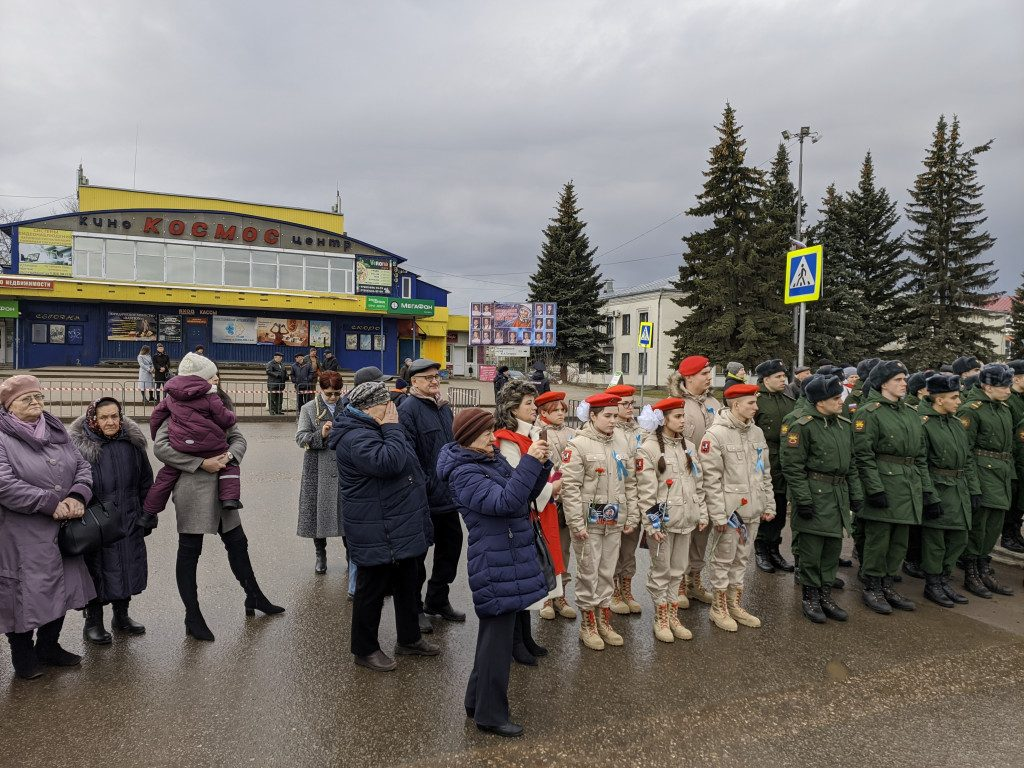 памятник Гагарину, возложение венков, Гагаринские чтения_3