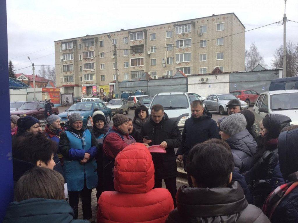 Сергей Леонов, Олег Борисов, рынок, Рославль_1