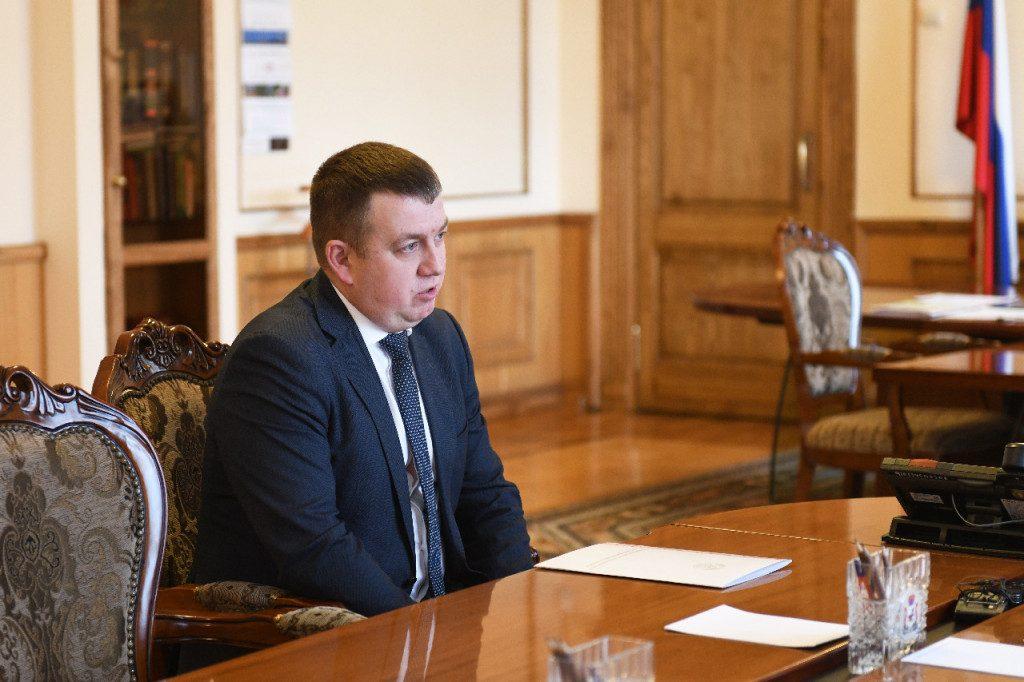 Сергей Мисурагин, руководитель отделения посольства РБ в РФ в Смоленске (фото admin-smolensk.ru)