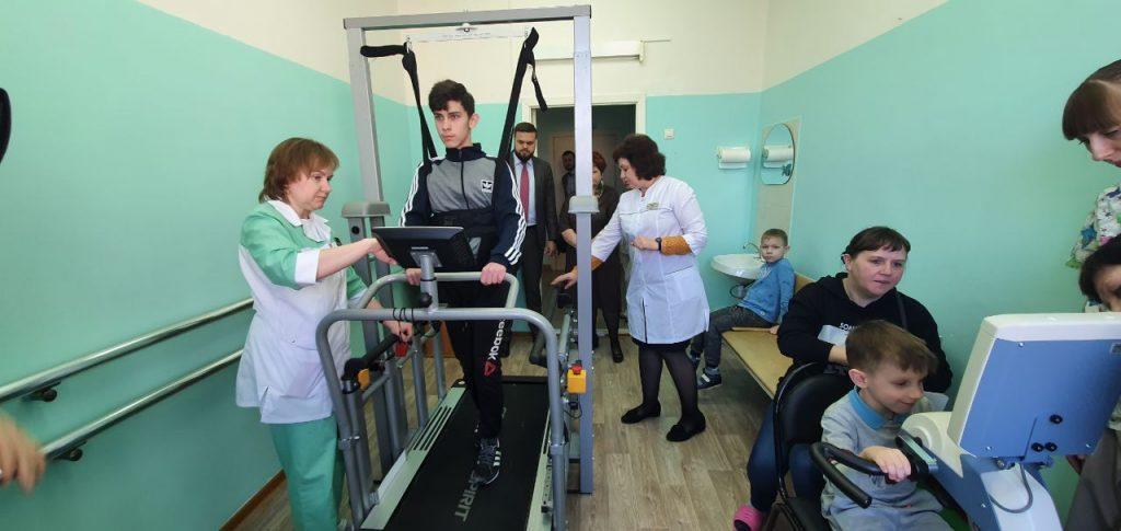 Туров, детский реабилитационный центр Вишенки, тренажёры_1