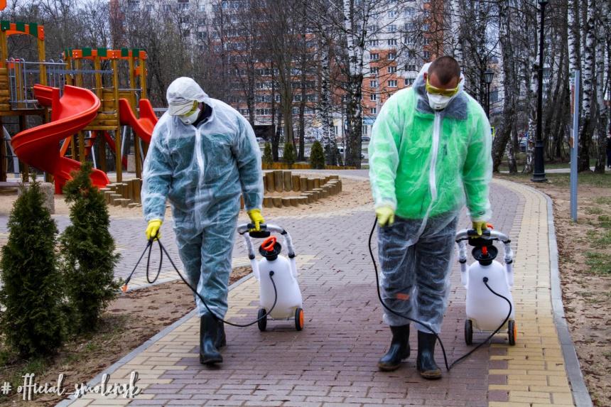 дезинфекция парков и скверов смоленск