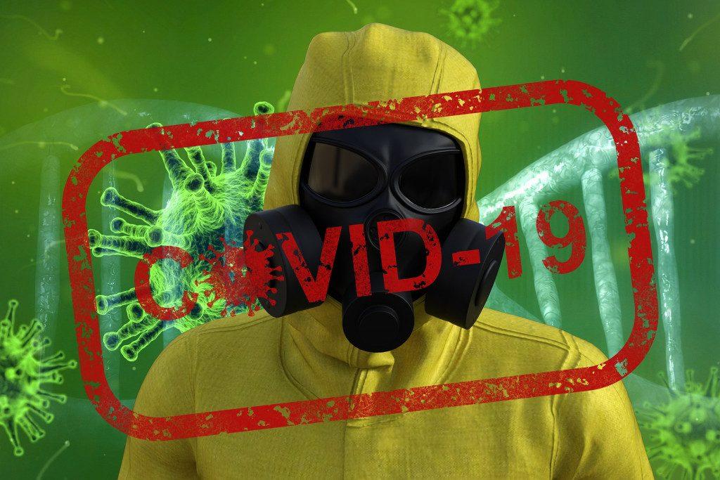 коронавирус, COVID-19, защитный костюм, вирусолог, эпидемиолог