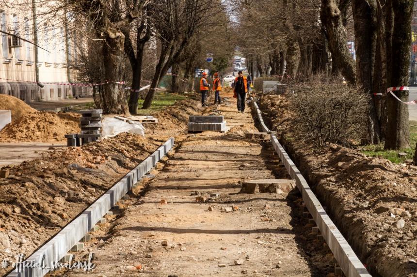 ремонт дорог Кутузова