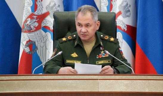 сергей Шойгу (фото Министерство обороны РФ)