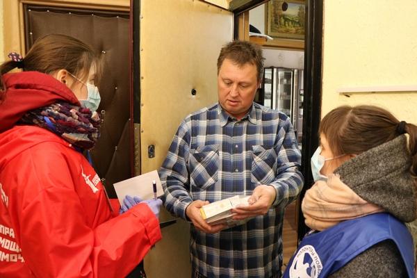волонтёры Единая Россия