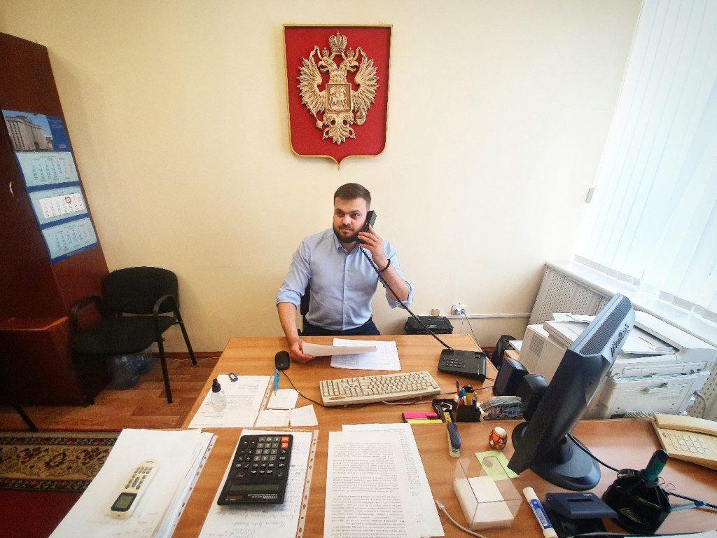 Артём Туров, кабинет депутата Госдумы (фото vk.com avturow)