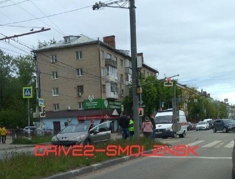 В Смоленске сбили пенсионерку на улице Кирова