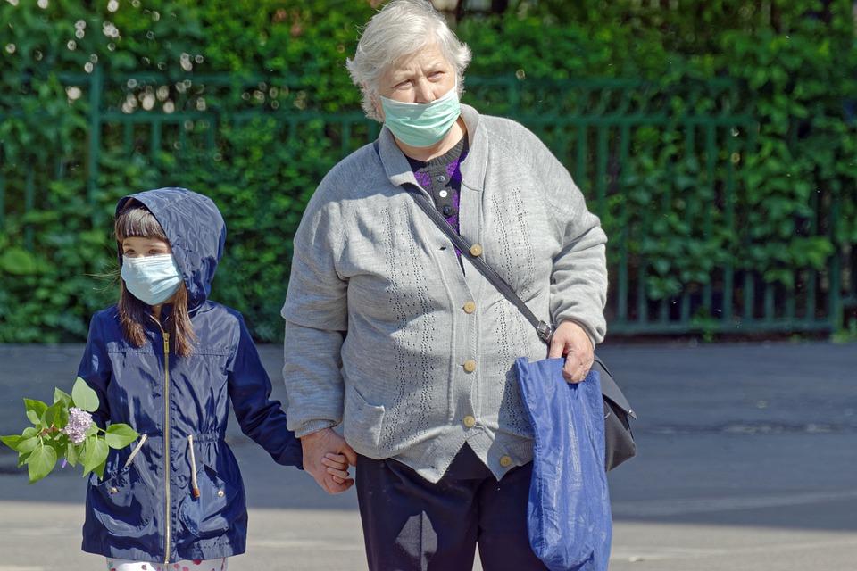 коронавирус пенсия пенсионер самоизоляция маска
