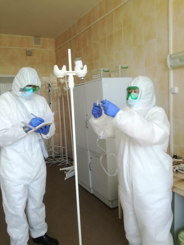 В Смоленской области сократился охват территорий новыми заражениями коронавирусом