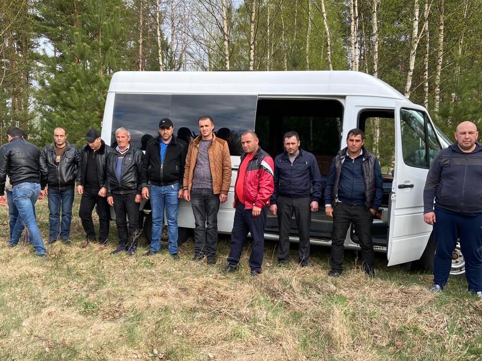 нелегалы, госграница (фото пресс-службы пограничного управления ФСБ по Смоленской области)