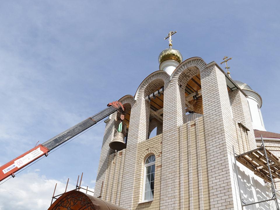 Рыбки, православный храм, освящение и установка колоколов 28.05.2020 (фото smoloblduma.ru)