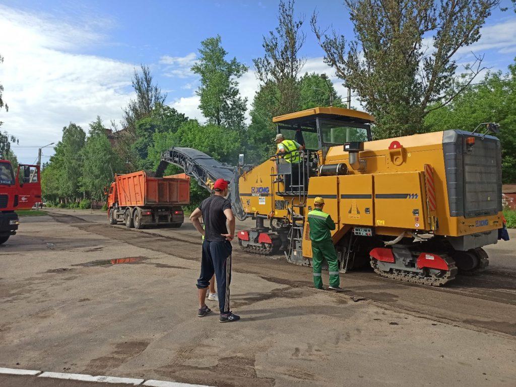 В Смоленске стартовал ремонт на улице Воробьёва
