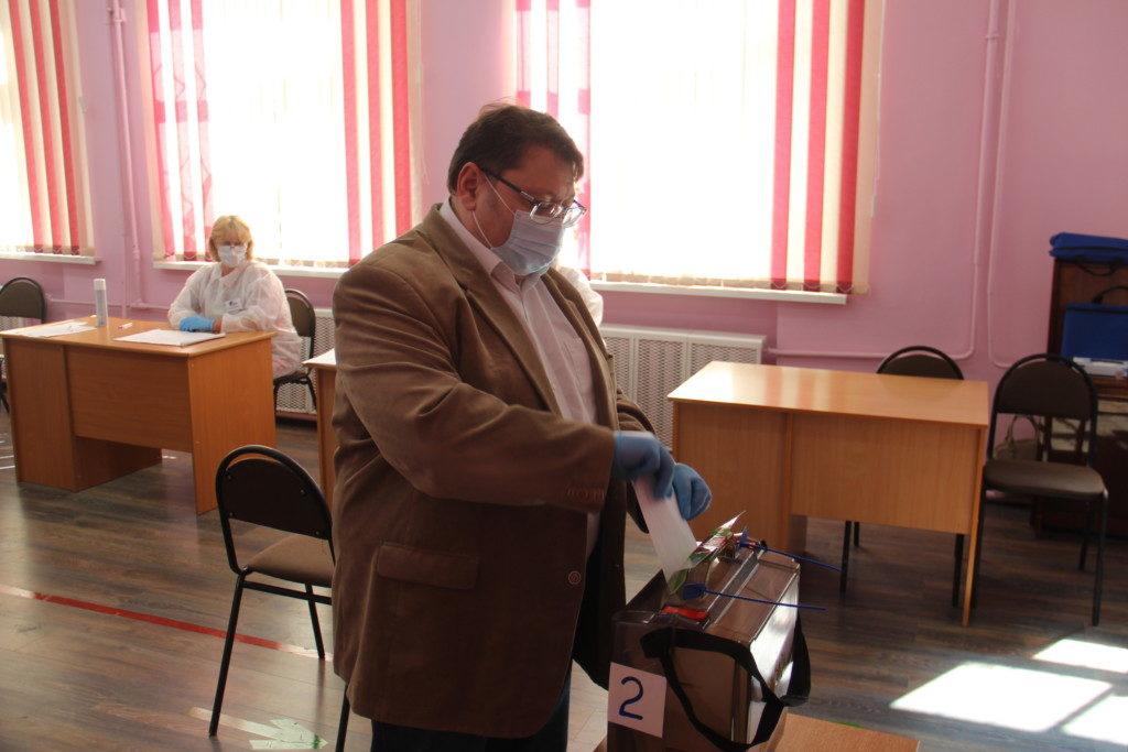 Эфрон, общероссийское голосование по поправкам в Конституцию РФ, школа 6, ИК 563_5