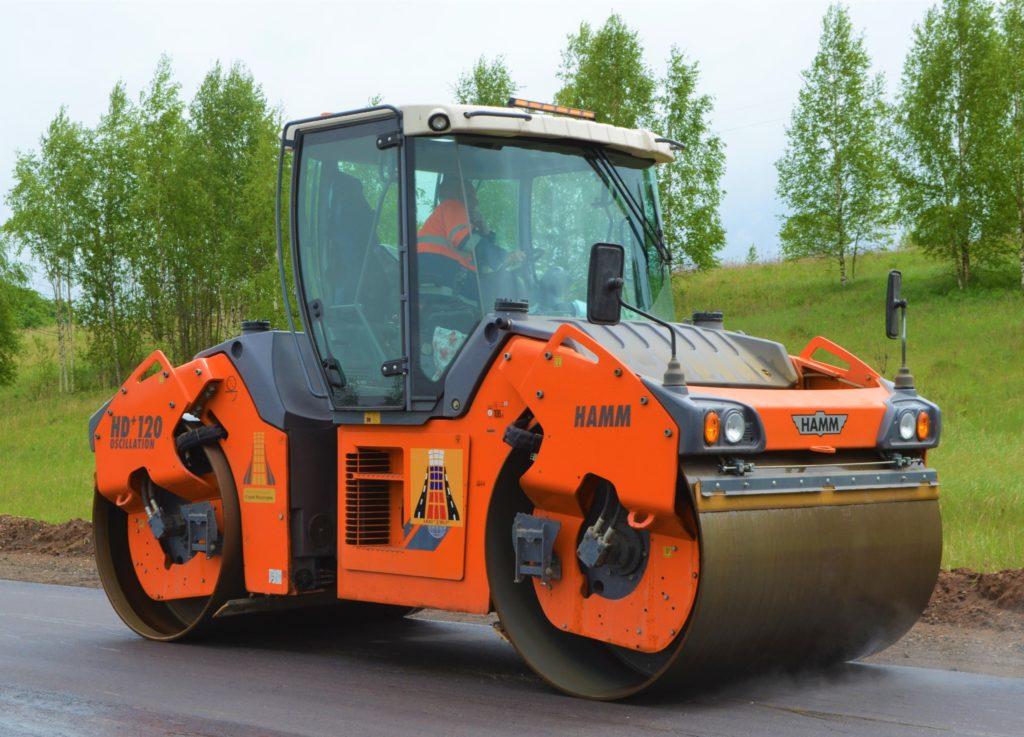 В Смоленской области начался ремонт дороги в национальный парк