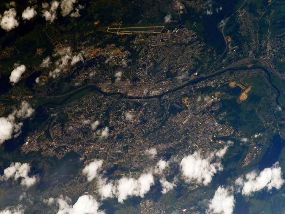 Смоленск на снимке из космоса (фото instagram.com ivan_mks63)