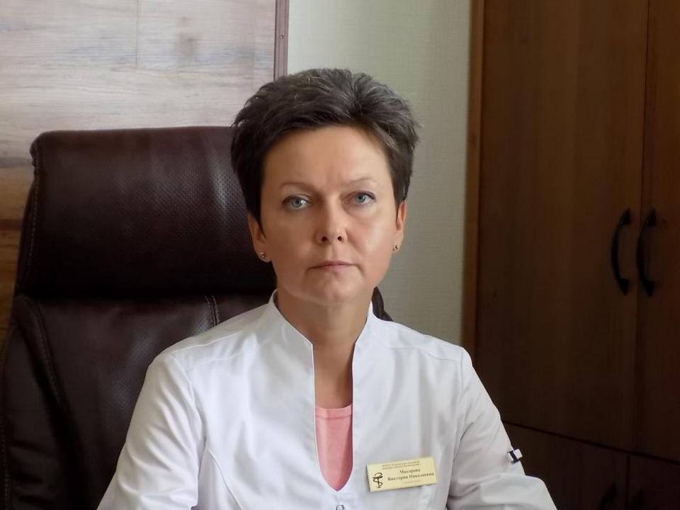 главный врач Смоленской областной детской клинической больницы Виктория Макарова (фото smolensk.er.ru)