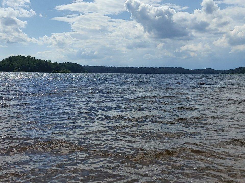 озеро Сапшо 1.07.2020, пляж в Пржевальском