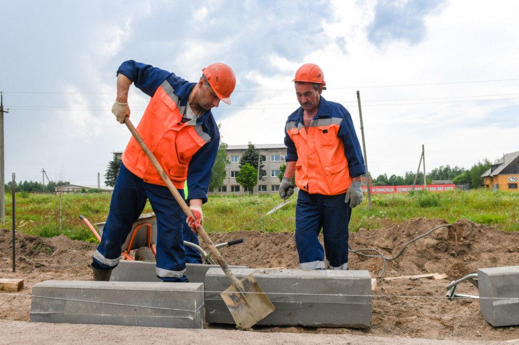 рабочие строители ремонтные службы
