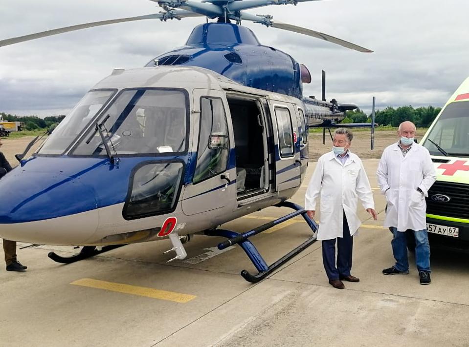 санитарная авиация вертолет