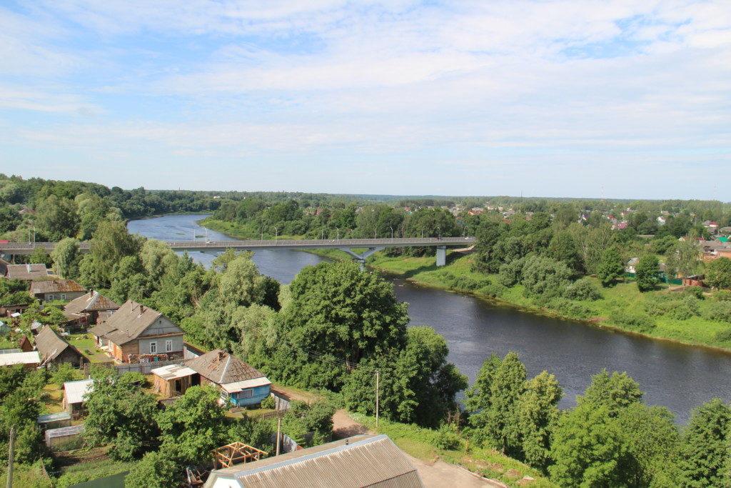 Велиж, мост, Западная Двина