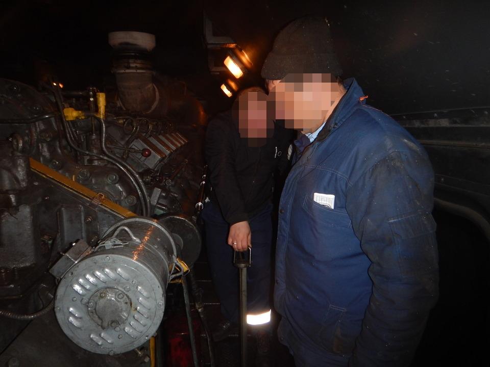 железнодорожники, хищение дизельного топлива (фото ЛОВД на станции Смоленск)