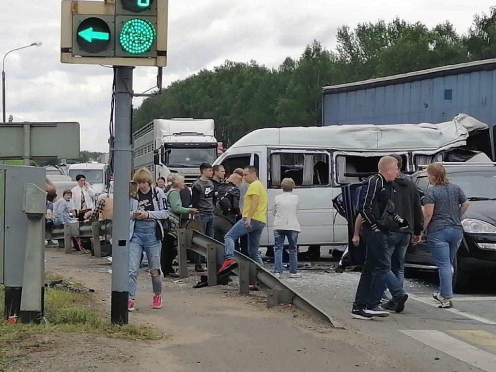дтп вязьма микроавтобус