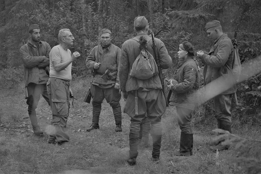 Карен Геворкян, съёмки Василия Тёркина (фото instagram.com terkin.film)