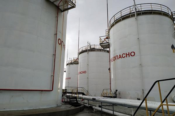 нефтебаза (фото Рамблер)