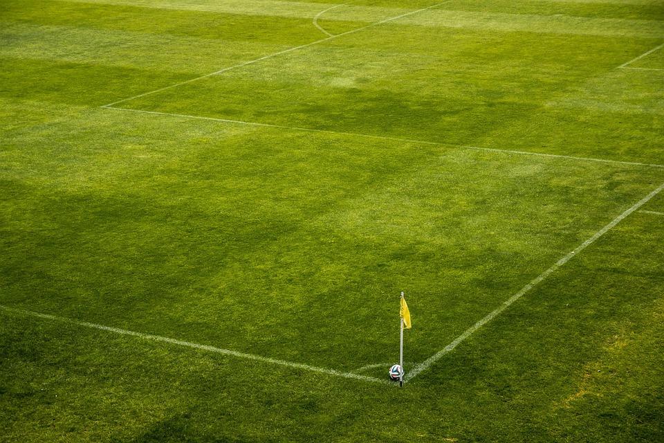 поле футбол стадион
