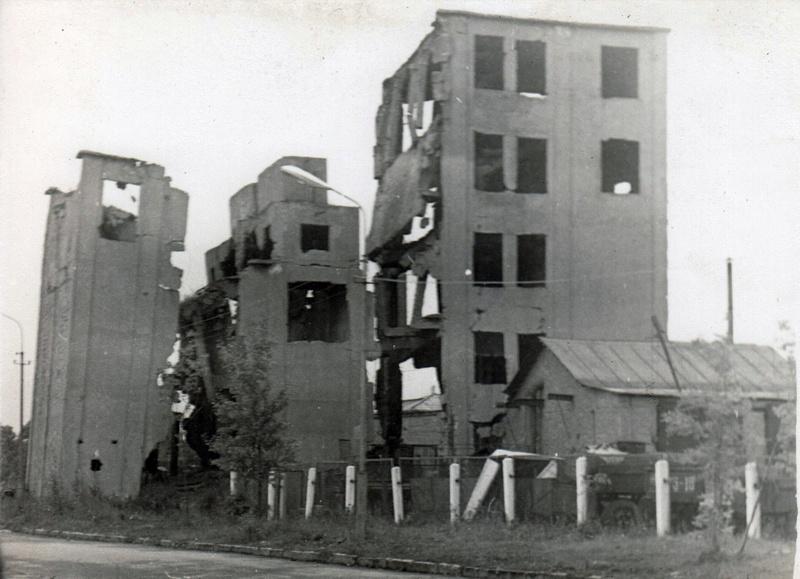 руины Смоленск