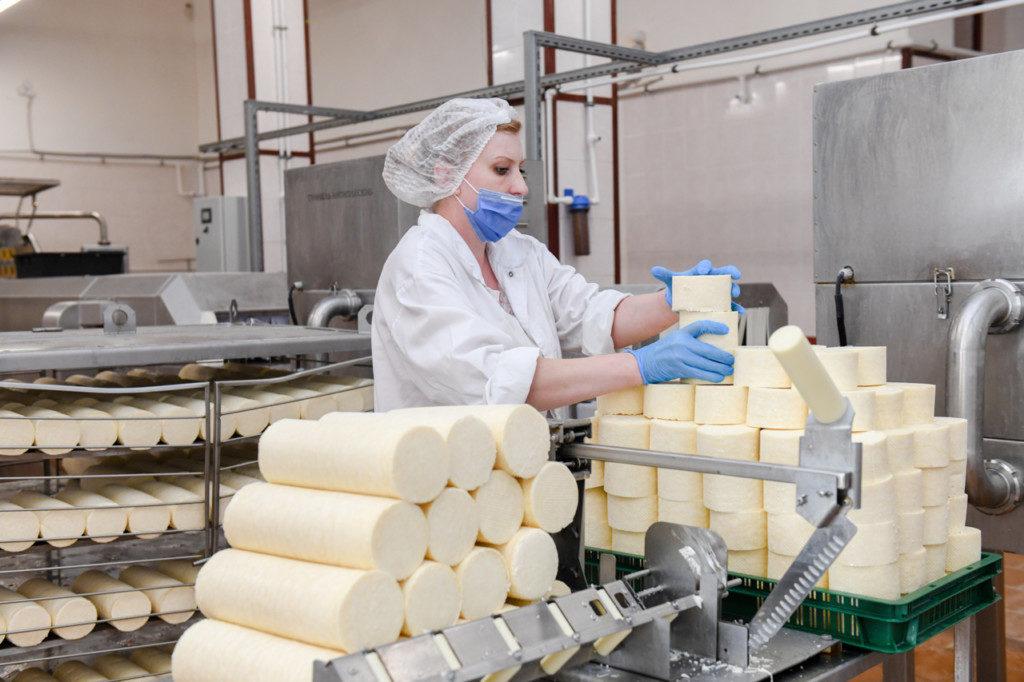 Сыр Роса производство