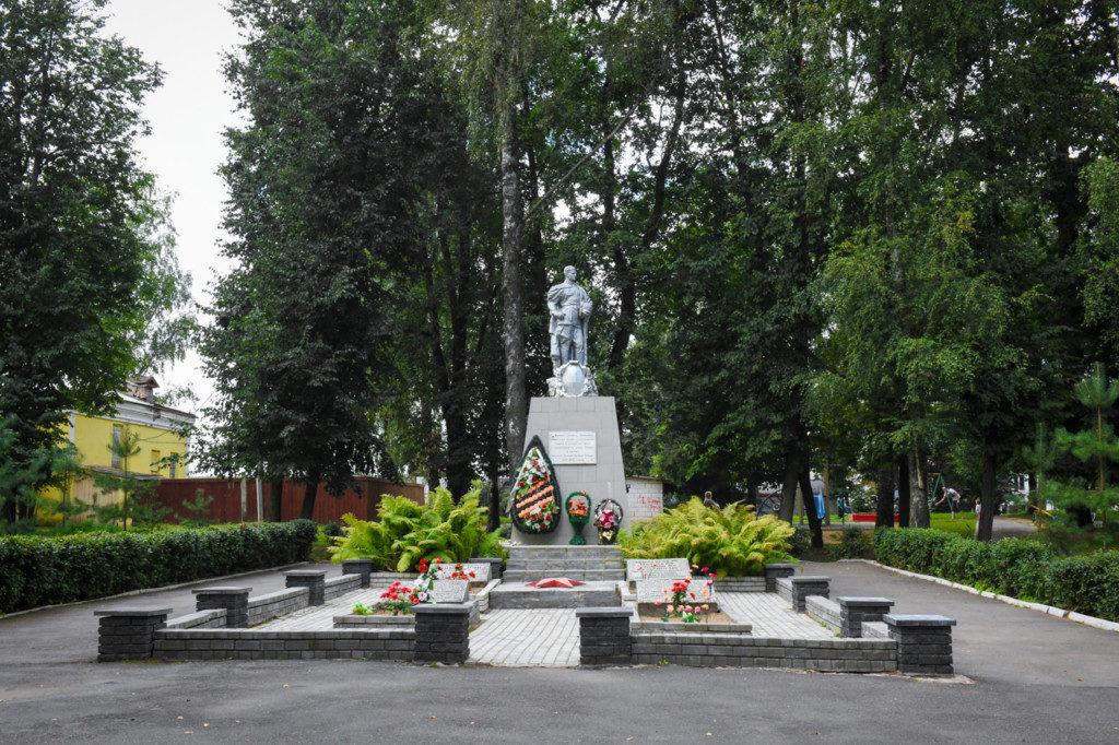 вечный огонь Сычёвский район