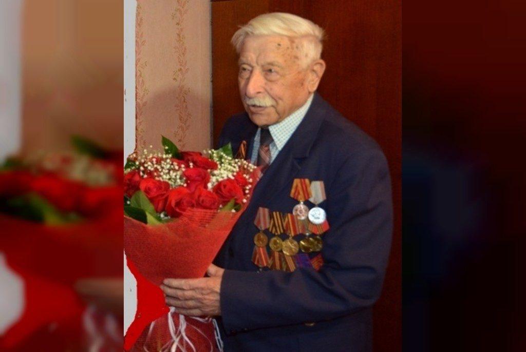 ветеран ВОВ, экс-сотрудник НКВД Полиэкт Михайлович Армеев (фото 67.mvd.ru)
