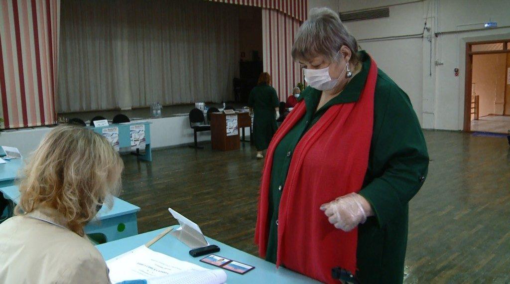 Ануфриенкова, голосование 11.09.2020 в 11-й школе