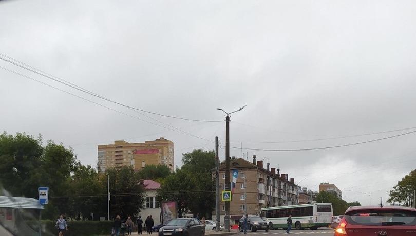 ДТП автобус шевроле