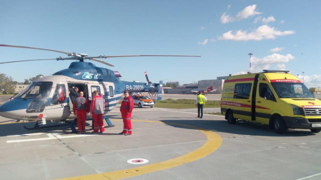 санитарная авиация Смоленской области, вертолёт Ансат (1)