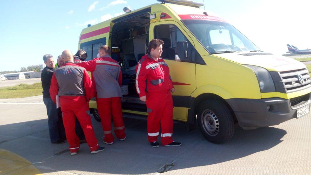 санитарная авиация Смоленской области, вертолёт Ансат (2)