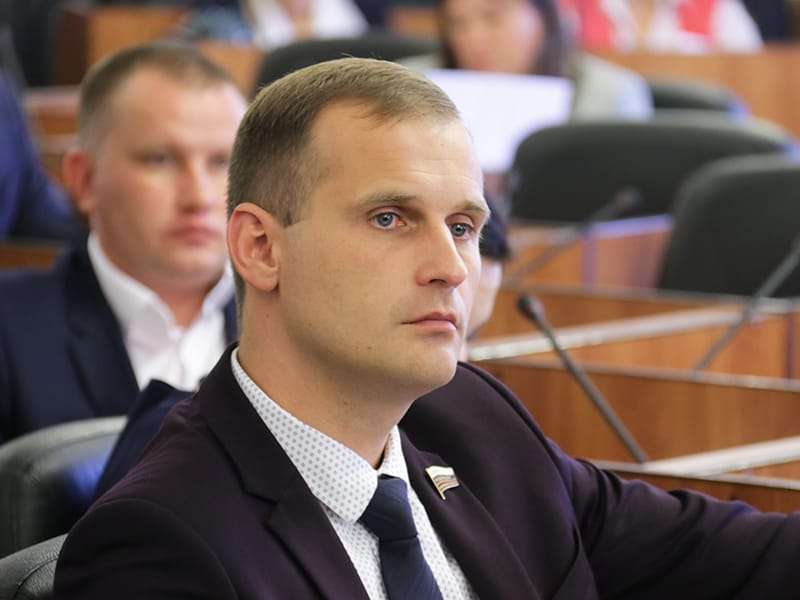 Сергей Леонов, Смоленская областная дума