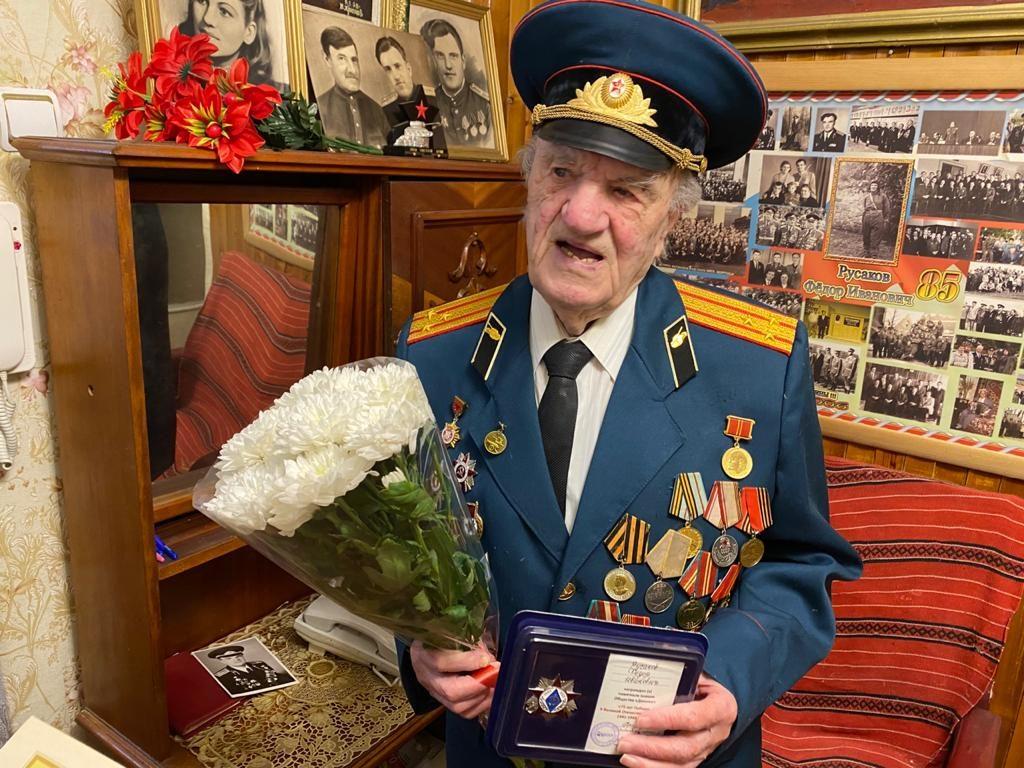 участник ВОВ, ветеран органов госбезопасности Фёдор Иванович Русаков_1