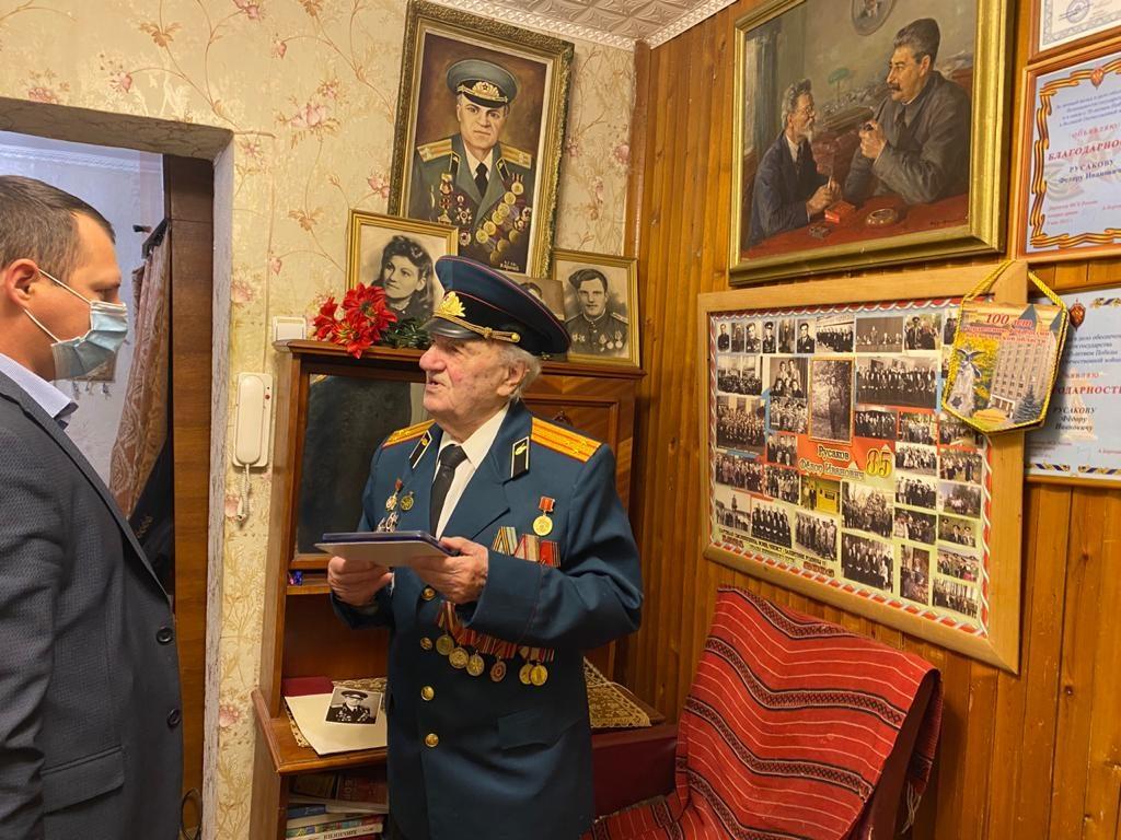 участник ВОВ, ветеран органов госбезопасности Фёдор Иванович Русаков_2
