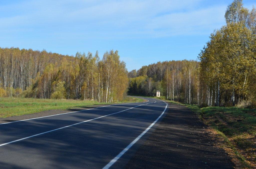 ремонт дороги Рославль-Ельня-Дорогобуж-Сафоново, осень 2020_2 (фото Смоленскавтодора)