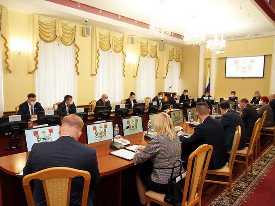 внеочередная 16.10.2020 сессия горсовета VI созыва