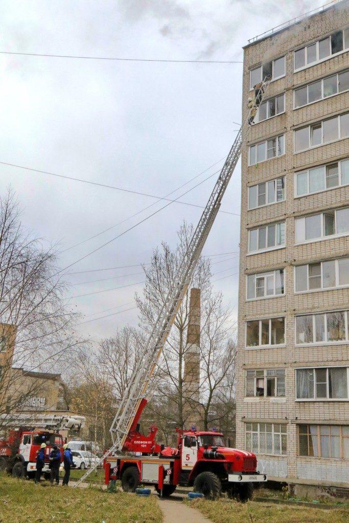 лестница пожар