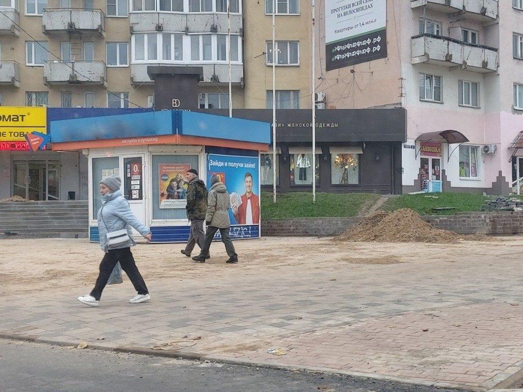 павильон микрозаймов на улице Николаева, октябрь 2020