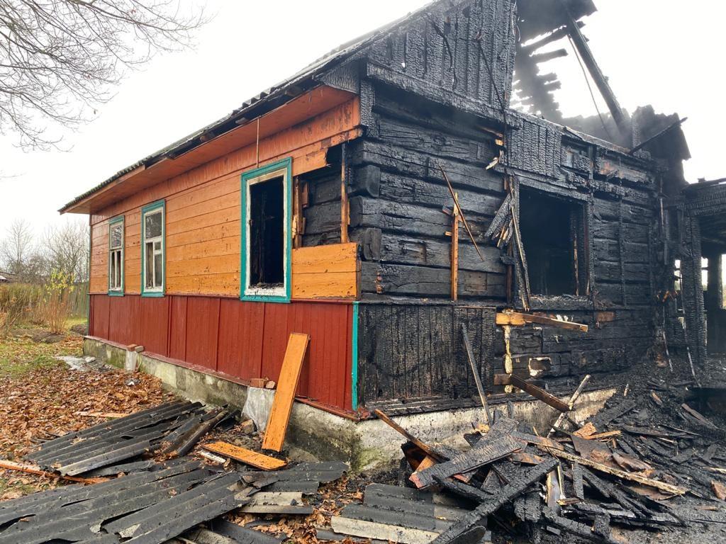 пожар Силачи смоленский район