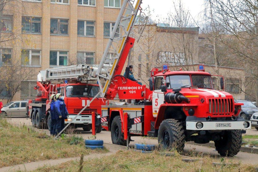 пожарная машина спасатели