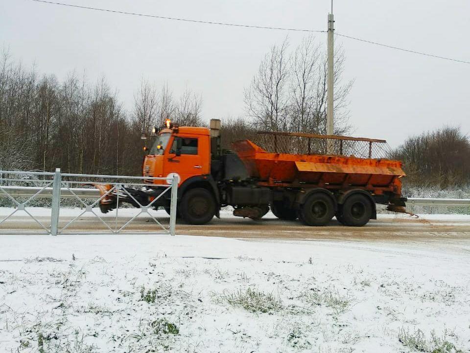 СпецАвто, очистка дорог от снега (фото smoladmin.ru)