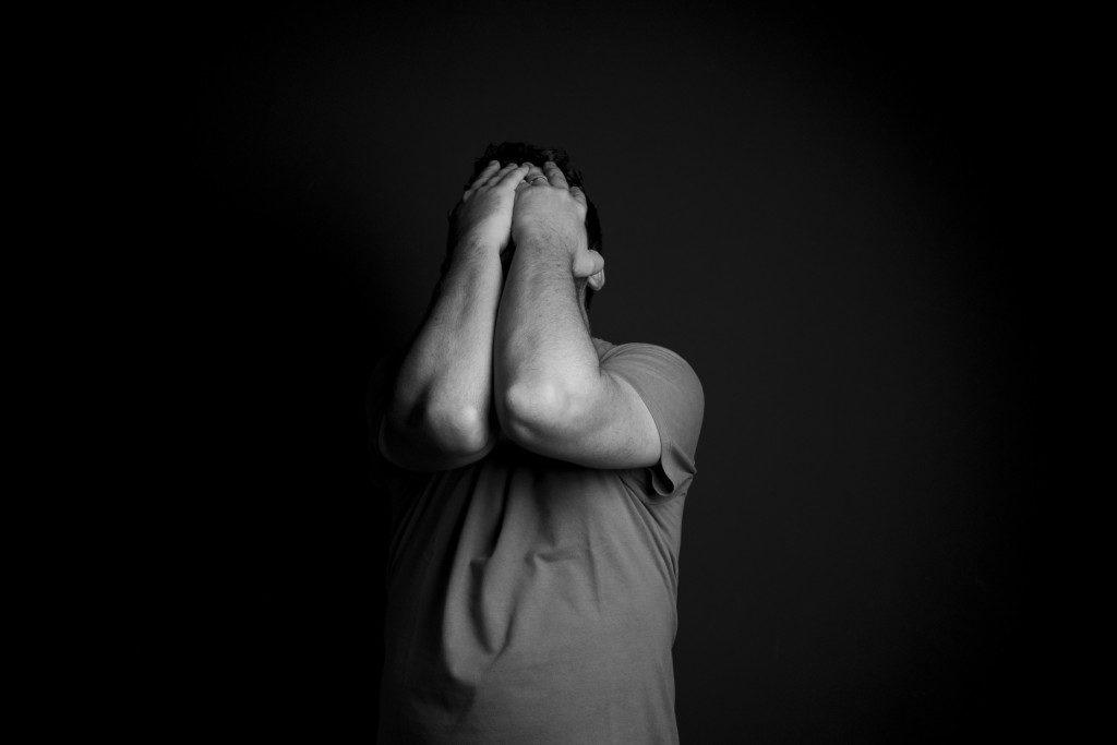 студент, молодой человек, подросток, старшеклассник, печаль, депрессия