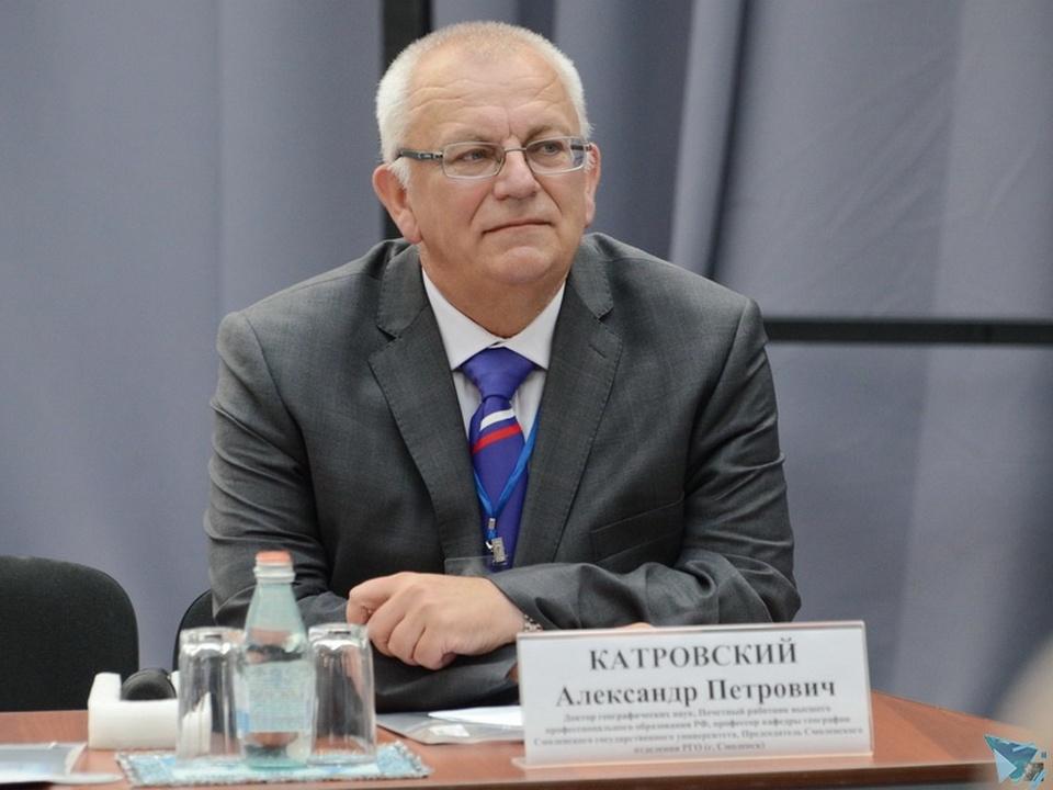 Александр Катровский (фото kvcsmolensk.ru)